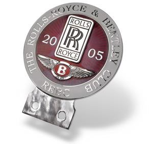 Rolls Royce klubimärk autole