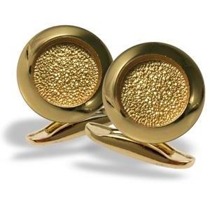 Kullast, poleeritud mansetinööbid